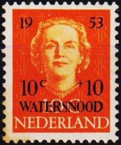 Netherlands. 1953 10c+10c. S.G.763 Unmounted Mint