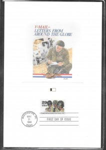 Just Fun Cover #2765E Fleetwood Proofcard FDC Cachet (my277)