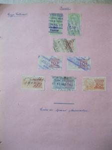 COLLECTION OF FRANCE REVENUES ETC