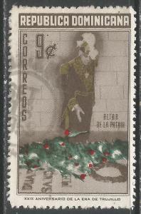 DOMINICAN REPUBLIC 508 VFU O098-2