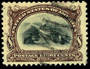 U.S. #298 Used F-VF