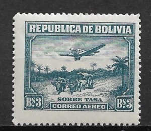 1930 Bolivia C34  3p Airplane and Bullock MLH