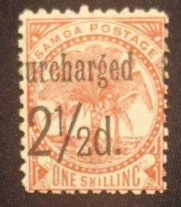 Samoa 26, Cat. value - $12.00, 1898, MHOG