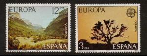 SPAIN SG2462/3 1977 EUROPA MNH