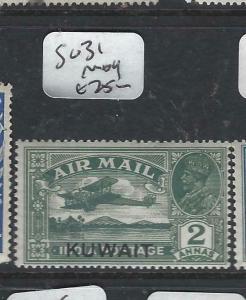 KUWAIT   (P2804B) ON  INDIA  KGV  2A A/M  SG 32   MOG