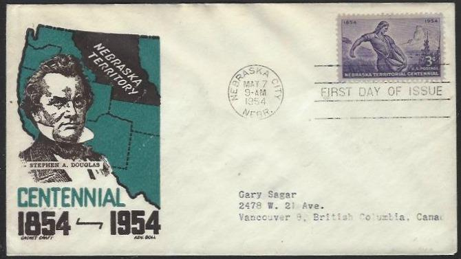 USA #1060 First Day Cover