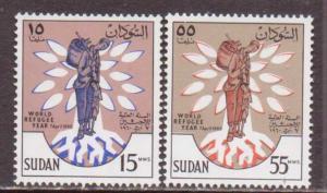 Sudan   #128-29  MNH  (1960)  c.v. $1.00