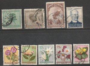 Belgium Congo Used Lot #190815-3