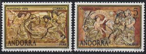 Andorra - Spanish Issues 84-85 MNH (1974)