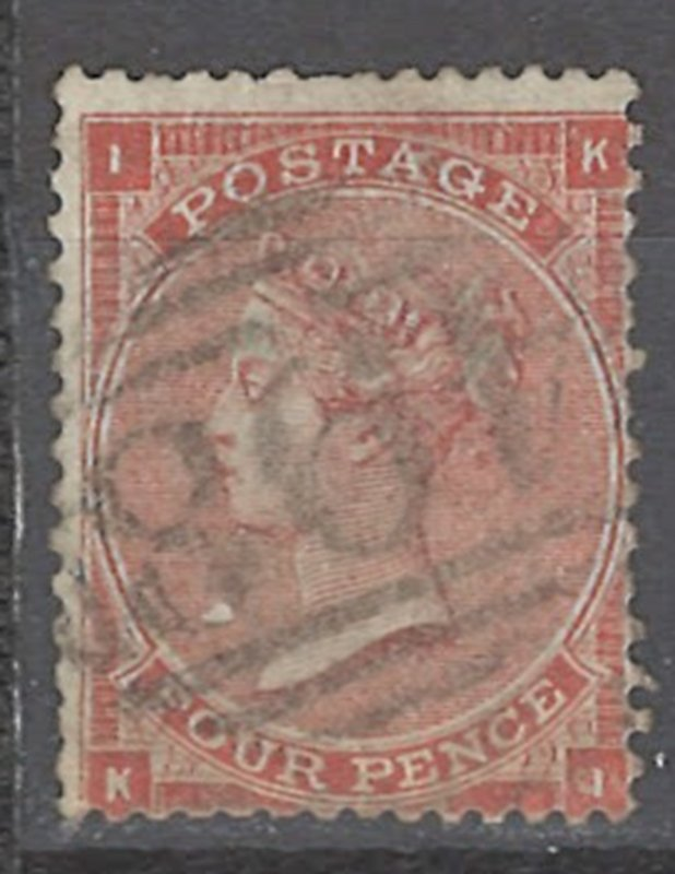 COLLECTION LOT # 2437 GREAT BRITAIN #34 1862 CV=$65