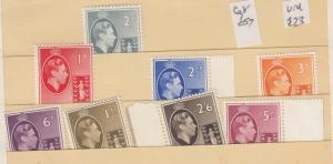 British Virgin Islands 1938 Set To 5/- SG110/118 Mint MNH J3866
