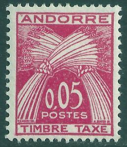 ANDORRA-FRENCH SCOTT J42