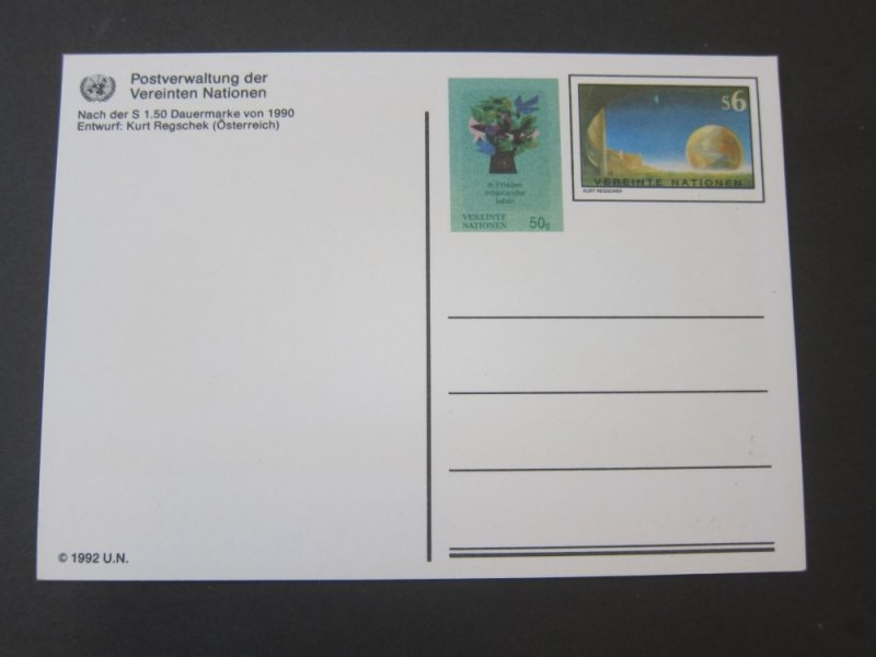 United Nations (Vienna) 1992 PC mint