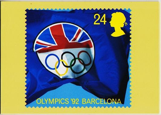 Great Britain. 1992 Europa '92. PHQ Cards(5) Unused