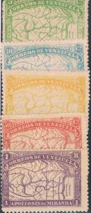 Venezuela 137-41 MHR (V0037)