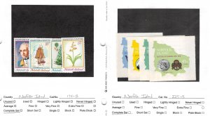 Lot of 34 Norfolk Island MNH Mint Never Hinged Stamps #145829 X R
