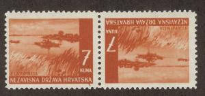 CROATIA SC# 41a F-VF MNH 1941