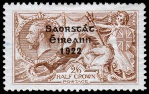 Ireland Scott 77b (1927) Mint H VF, CV $60.00 C