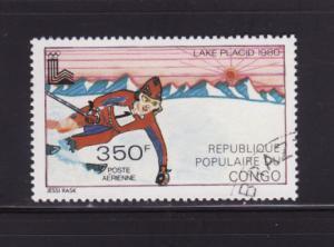 Congo Peoples Republic C264 U Sports, Olympics, Skiing (E)
