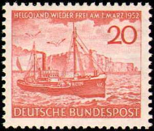 1952 Germany #690, Complete Set, Never Hinged