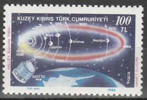 Turkey Northern Cyprus #190 MNH F-VF  (V1748)
