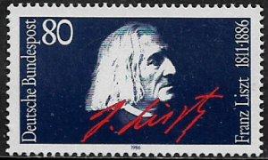 Germany #1464 MNH Stamp - Franz Liszt, Composer