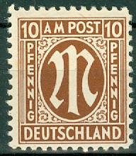 Germany - Allied Occupation - AMG - 3N7 MNH (SP)