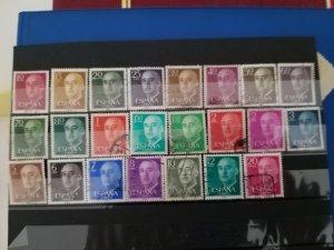 Spain General Franco 1955-1975 (missing 1.40)