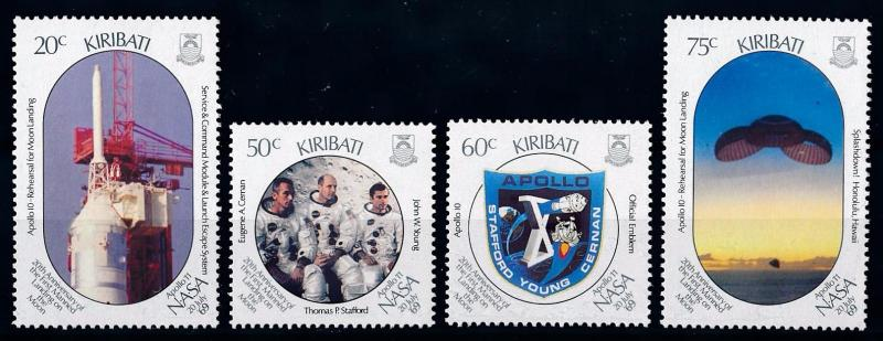 [65019] Kiribati 1989 Space Travel Weltraum Apollo 10  MNH