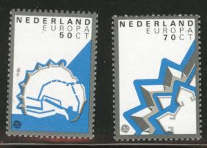 Netherlands Scott 645-646 MNH** 1982 Europa set