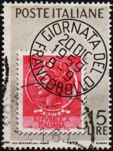 Italy. 1959 15L S.G.1014 Fine Used