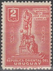 Uruguay #536 MNH F-VF (SU4971)