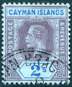 HERRICKSTAMP CAYMAN ISLANDS Sc.# 41 Used Scott Retail $65.00