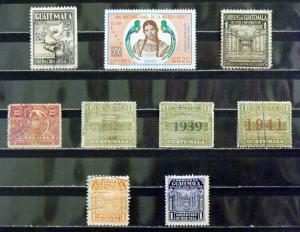 2049   Guatemala   MNH/Used, VF   # 365, C566, RA1 // RA23   CV$ 3.25