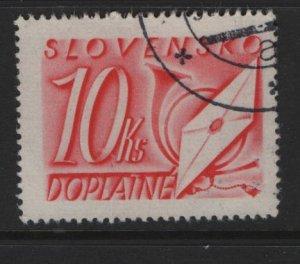 SLOVENIA J38  USED POSTAGE DUE
