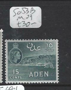 ADEN (P0204B)  QEII  15C   SG 53B   MOG
