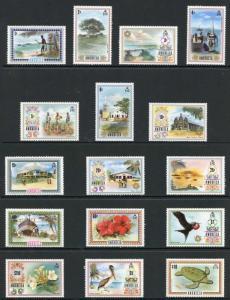 Anguilla SG130/44a 1972 Set Fresh U/M