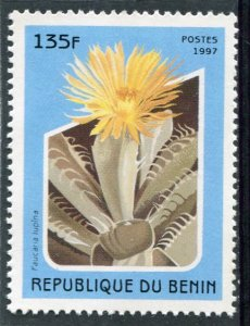 Benin 1997 CACTUS 1 value Perforated Mint (NH)