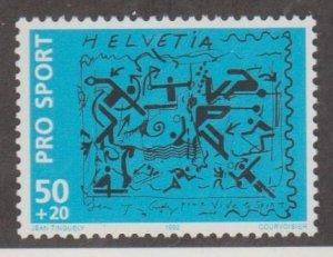 Switzerland Scott #B580 Stamp - Mint NH Single