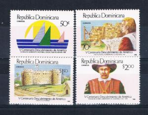 Dominican Republic 1035-38 MNH set Discovery of America (D0109)