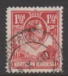 Northern Rhodesia Sc#29 Used