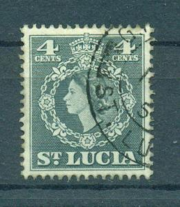 St. Lucia sc# 160 (2) used cat value $.25