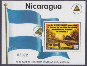 1980 Nicaragua 2118/B115 Landscape 8,00 €