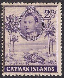 Cayman Islands 1938 - 48 KGV1 2d Hawksbill Turtles MM SG 119 ( A774 )