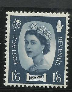 Northern Ireland GB 1967 QE2 1/-6d Grey Blue Umm SG NI 6 ( T40 )