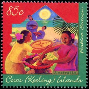 Cocos Islands #316-318, Complete Set(3), 1996, Never Hinged