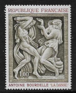 FRANCE, 1206, MNH, STATUE TYPE