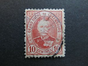 A4P26F19 Letzebuerg Luxembourg 1891-93 10c used