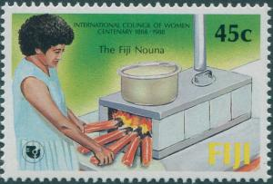 Fiji 1988 SG771 45c Council of Women MNH