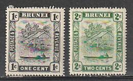 #43,45 Burundi Mint OGH
